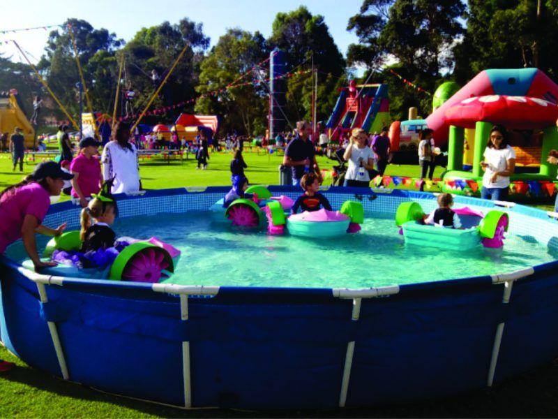 Atracción para eventos recreativos  y de colegio