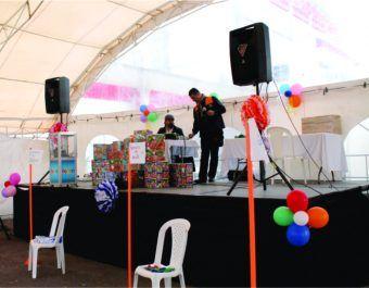 Alquiler de Tarimas para Eventos Empresariales, Sociales y Recreativos